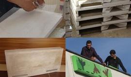Výroba polystyrénovej búdky pre netopiere
